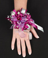 PURPLE PARADISE Prom Corsage in Roanoke, VA | BASKETS & BOUQUETS FLORIST