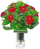 12 SUPERIOR RED ROSES ARRANGEMENT in Rockville, MD | ROCKVILLE FLORIST & GIFT BASKETS