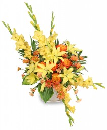 ENDLESS DEVOTION Sympathy Arrangement in Carman, MB | CARMAN FLORISTS & GIFT BOUTIQUE