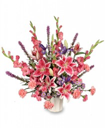 LOVING EXPRESSION Sympathy Arrangement in Tallahassee, FL | HILLY FIELDS FLORIST & GIFTS