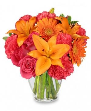 Feeling Hot! Hot! Hot! Bouquet in Milwaukie, OR | MARY JEAN'S FLOWERS & GIFTS