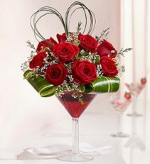 1800Flowers Love Potion Tipsy Arrangement