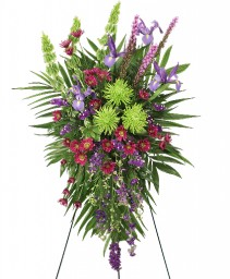 INSPIRATIONAL STYLE Funeral Flowers in Mcleansboro, IL | ADAMS & COTTAGE FLORIST