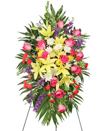 FONDEST FAREWELL Funeral Flowers in Cranston, RI | ARROW FLORIST/PARK AVE. GREENHOUSES