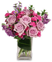 LAVENDER LUXURY Flower Arrangement in Noblesville, IN | ADD LOVE FLOWERS & GIFTS