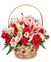 MY HEART IS YOURS Valentine Flowers in Largo, FL | ROSE GARDEN FLOWERS & GIFTS INC.