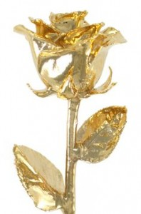 24 K Dipped Real Roses Keepsake Gift in Canon City, CO | TOUCH OF LOVE FLORIST AND WEDDINGS