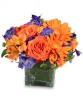 ENTHUSIASM BLOSSOMS Bouquet in El Cajon, CA | FLOWER CART FLORIST