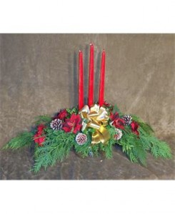 3 Candle Mantlepiece