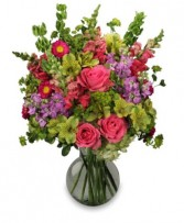 UNFORGETTABLE BEAUTY Arrangement in Michigan City, IN | WRIGHT'S FLOWERS AND GIFTS INC.