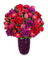 FILLED WITH LOVE Flower Arrangement in Zachary, LA | FLOWER POT FLORIST