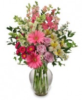 AMAZING MAY BOUQUET Mother's Day Flowers in Worcester, MA | GEORGE'S FLOWER SHOP