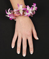CHIC PINK ORCHID Prom Corsage in Essex Junction, VT | CHANTILLY ROSE FLORIST