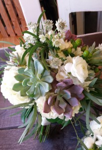 .Wedding Bouquet .Early summer hand tied bouquet