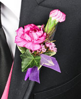MAGICAL MEMORIES Prom Boutonniere in Great Falls, MT | PURPLE CAT CREATIONS