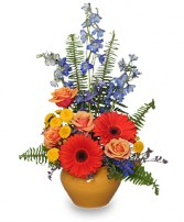 HIGH STYLE BLOOMS Arrangement in Glenwood, AR | GLENWOOD FLORIST & GIFTS
