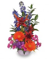 OH HAPPY DAY! Bouquet in Advance, NC | ADVANCE FLORIST & GIFT BASKET