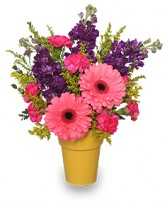 HAPPY-GO-LUCKY GARDEN Flowers to Say Thank You in Florence, SC | MUMS THE WORD FLORIST
