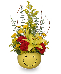 Put On A Happy Face! Bouquet in Brenham, TX | BRENHAM FLORAL COMPANY