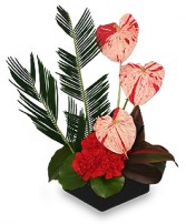 SPLASHED WITH STYLE Floral Centerpiece in Edgewood, MD | EDGEWOOD FLORIST & GIFTS