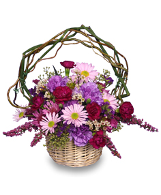 LOVEABLE LAVENDER Basket