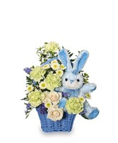 CONGRATULATIONS SON New Baby Flowers in Little Falls, NJ | PJ'S TOWNE FLORIST INC