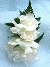 Gardenia Corsage Wedding Party Flowers