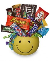 CANDY BOUQUET Gift Basket in Houston, TX | AJ'S URBAN PETALS