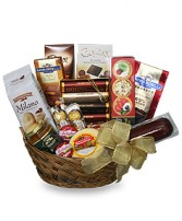 GOURMET BASKET Gift Basket in Osceola, NE | THE FLOWER COTTAGE, LLC