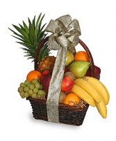 FESTIVE FRUIT BASKET Gift Basket in Newport, RI | LITTLE FLOWER FLORALS