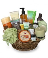 PAMPER ME BASKET Gift Basket in Osceola, NE | THE FLOWER COTTAGE, LLC