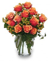 CORAL SUNSET Bouquet of Roses in West Hills, CA | RAMBLING ROSE FLORIST