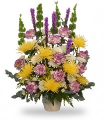 THOUGHTFUL REFLECTIONS  Funeral Arrangement in Milwaukee, WI | SCARVACI FLORIST & GIFT SHOPPE