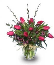 SIMPLY SPRING TULIPS  Floral Arrangement