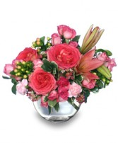 LOVING EMBRACE  Flower Vase in Windsor, ON | K. MICHAEL'S FLOWERS & GIFTS