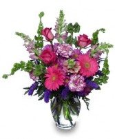 ENCHANTED BLOOMS Flower Arrangement in Milton, MA | MILTON FLOWER SHOP, INC
