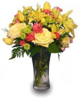 AUTUMN DAYBREAK Flower Bouquet in Charleston, SC | CHARLESTON FLORIST INC.