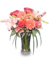 CORAL REFLECTIONS of Fresh Flowers in Prospect, CT | MARGOT'S FLOWERS & GIFTS