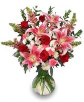 PERFECT LOVE BOUQUET  Fresh Flowers in Naperville, IL | DLN FLORAL CREATIONS