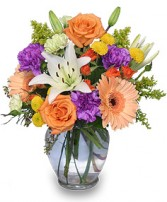 CELEBRATE! Bouquet in Goderich, ON | LUANN'S FLOWERS & GIFTS