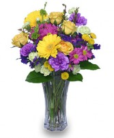 PRETTY POSY Flower Arrangement in Claresholm, AB | FLOWERS ON 49TH