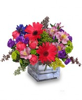 RAZZLE DAZZLE Bouquet of Flowers in Deer Park, TX | FLOWER COTTAGE OF DEER PARK