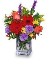 FLORAL TAPESTRY Bouquet of Flowers in Michigan City, IN | WRIGHT'S FLOWERS AND GIFTS INC.