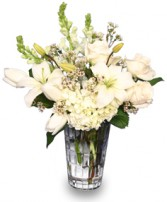 LET IT SNOW!  with Fresh Flowers in Altoona, PA | CREATIVE EXPRESSIONS FLORIST
