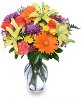 SEPTEMBER SUN Bouquet of Flowers in Thunder Bay, ON | GROWER DIRECT - THUNDER BAY
