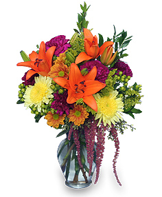 GRACEFUL GATHERING Bouquet of Flowers