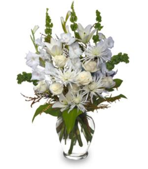 PEACEFUL COMFORT Flowers Sent to the Home in Edmonton, AB | POLLIE'S FLOWERS