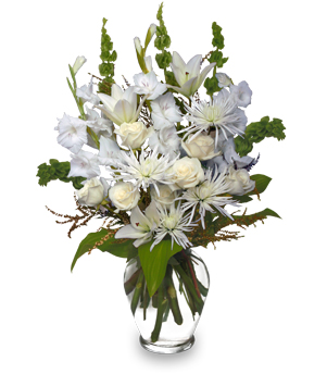 PEACEFUL COMFORT Flowers Sent to the Home in Essex Junction, VT | CHANTILLY ROSE FLORIST