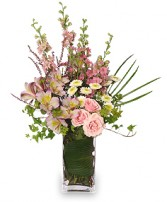 IT'S A GIRL! BOUQUET Fresh Flowers in Santa Cruz, CA | BOULDER CREEK FLOWERS & DESIGN CO.
