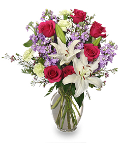 WINTER DREAMS Bouquet of Flowers in Fitchburg, MA | CAULEY'S FLORIST & GARDEN CENTER